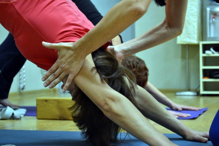 Занятия йога практика